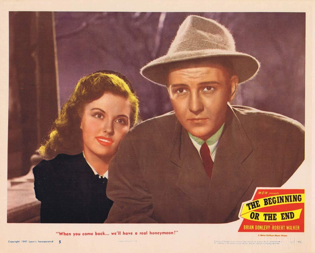 THE BEGINNING OF THE END Lobby Card 5 Brian Donlevy Hume Cronyn Robert Walker