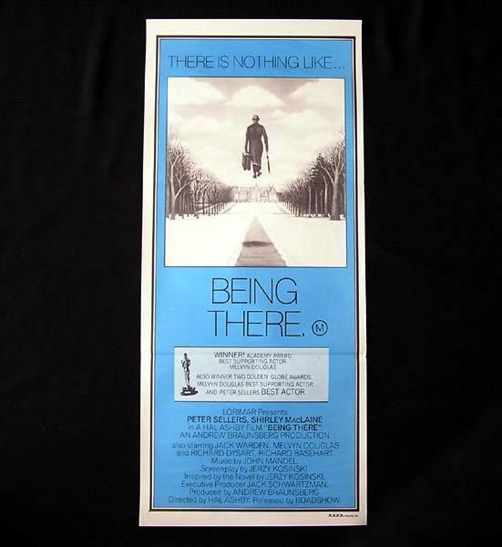 BEING THERE 1979 Peter Sellers RARE Original Daybill Movie Poster