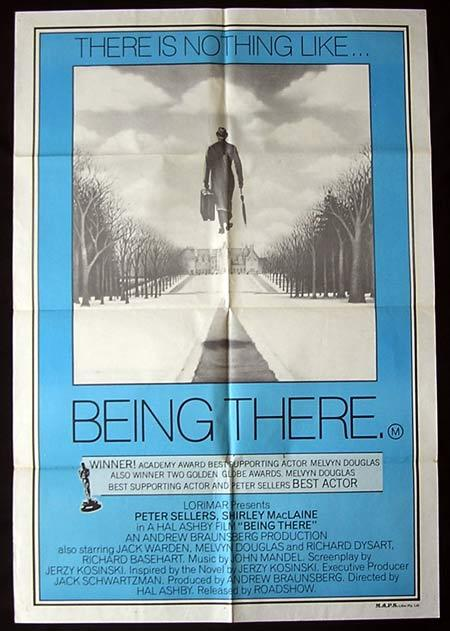 BEING THERE Original One sheet Movie poster