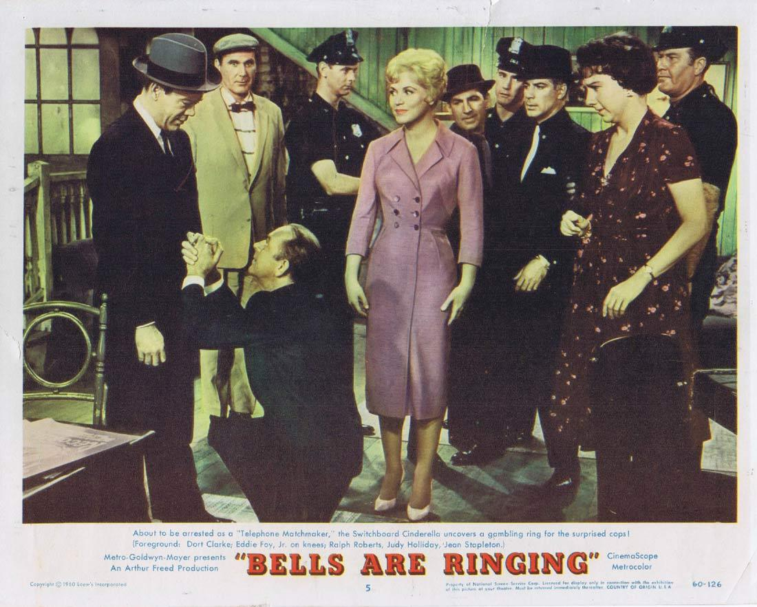 BELLS ARE RINGING Lobby Card 5 Judy Holliday