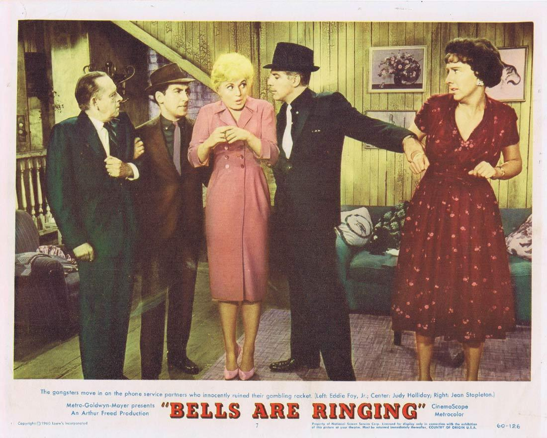 BELLS ARE RINGING Lobby Card 7 Judy Holliday
