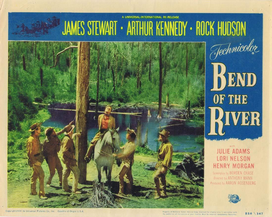 Bend of the River, Anthony Mann, James Stewart Arthur Kennedy Julie Adams Rock Hudson