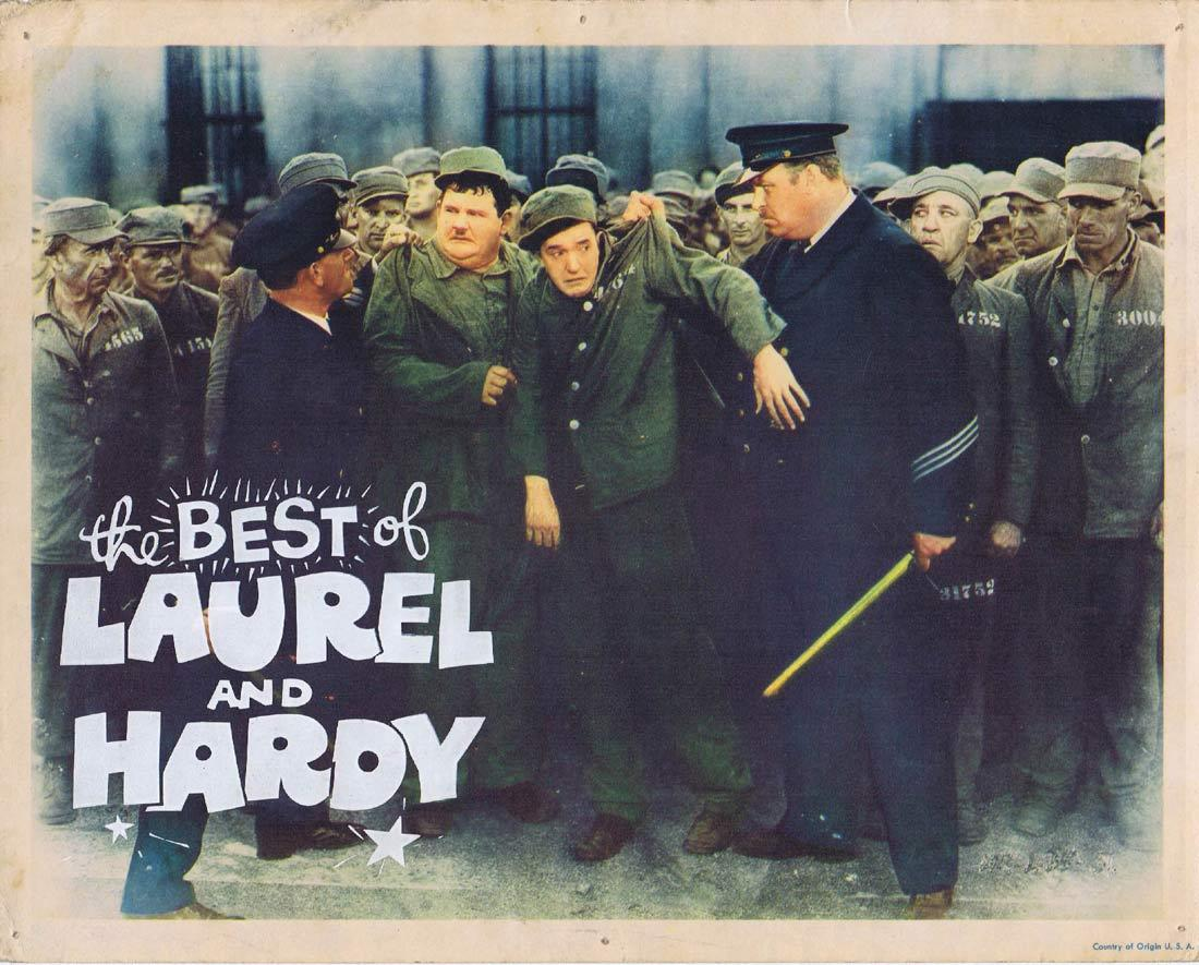 THE BEST OF LAUREL AND HARDY Lobby Card 3 Stan Laurel Oliver Hardy