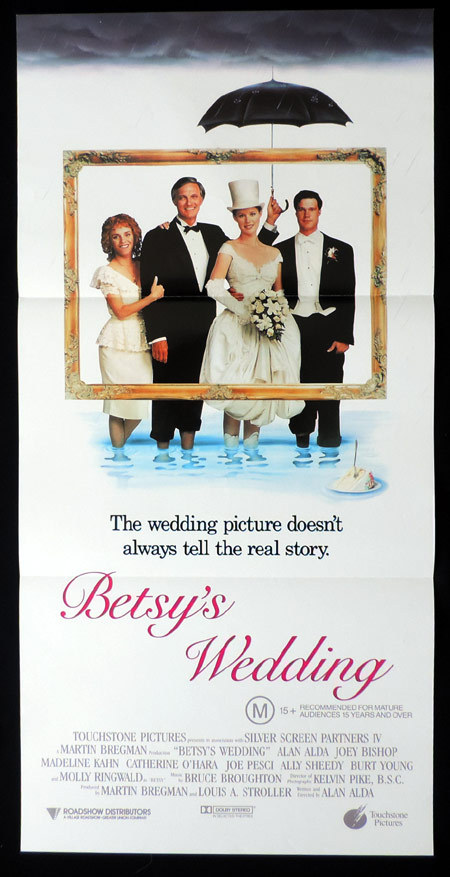 BETSY'S WEDDING Original Daybill Movie Poster Molly Ringwald