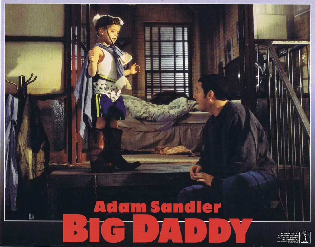 BIG DADDY Original Lobby Card 4 Adam Sandler Joey Lauren Adams