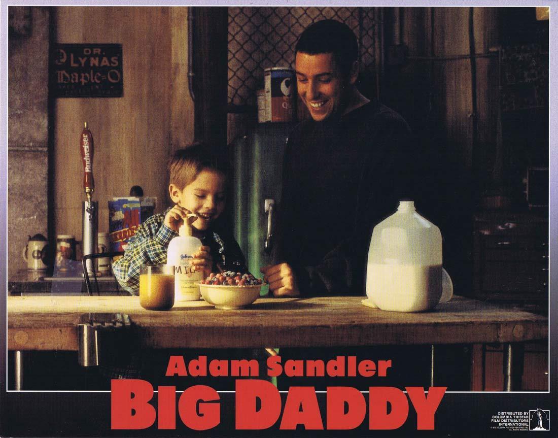 BIG DADDY Original Lobby Card 6 Adam Sandler Joey Lauren Adams