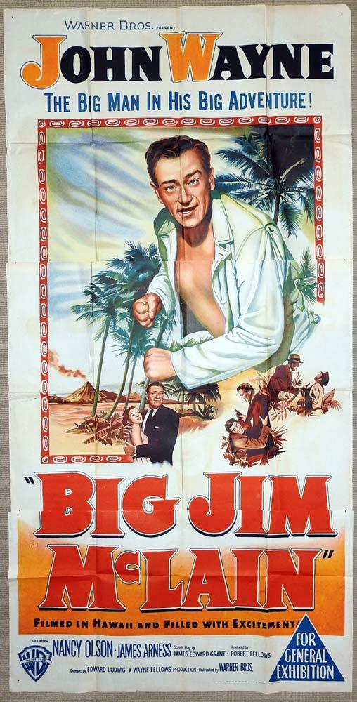 Big Jim McLain, Edward Ludwig, John Wayne, Nancy Olson, James Arness, Alan Napier