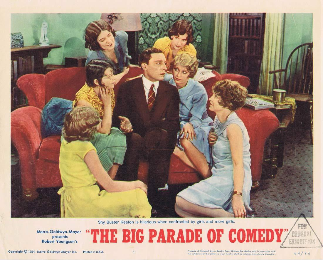 THE BIG PARADE OF COMEDY Original Lobby Card 3 Buster Keaton