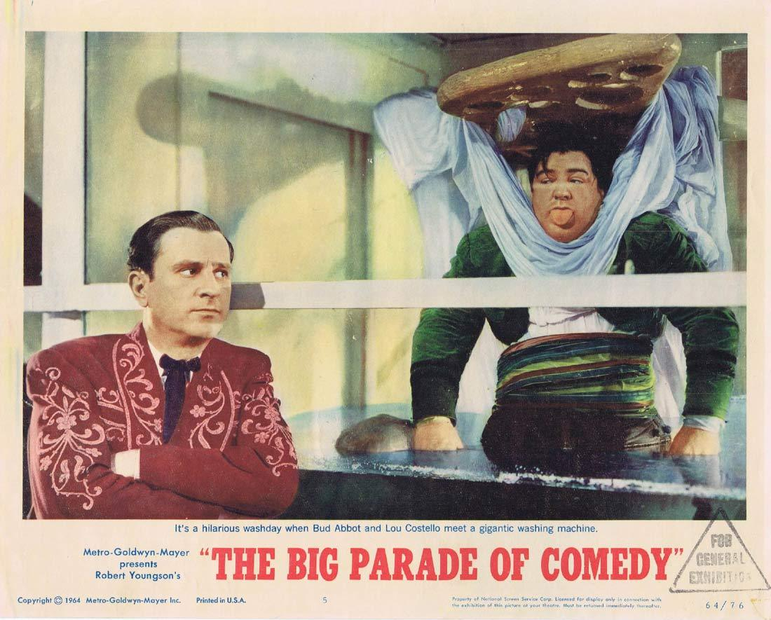 BIG PARADE OF COMEDY Original Lobby Card 5 Abbott and Costello