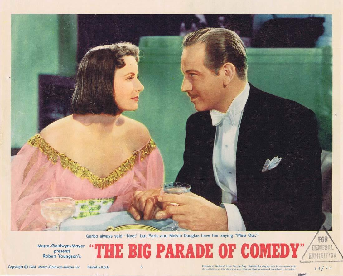 BIG PARADE OF COMEDY Original Lobby Card 6 Greta Garbo