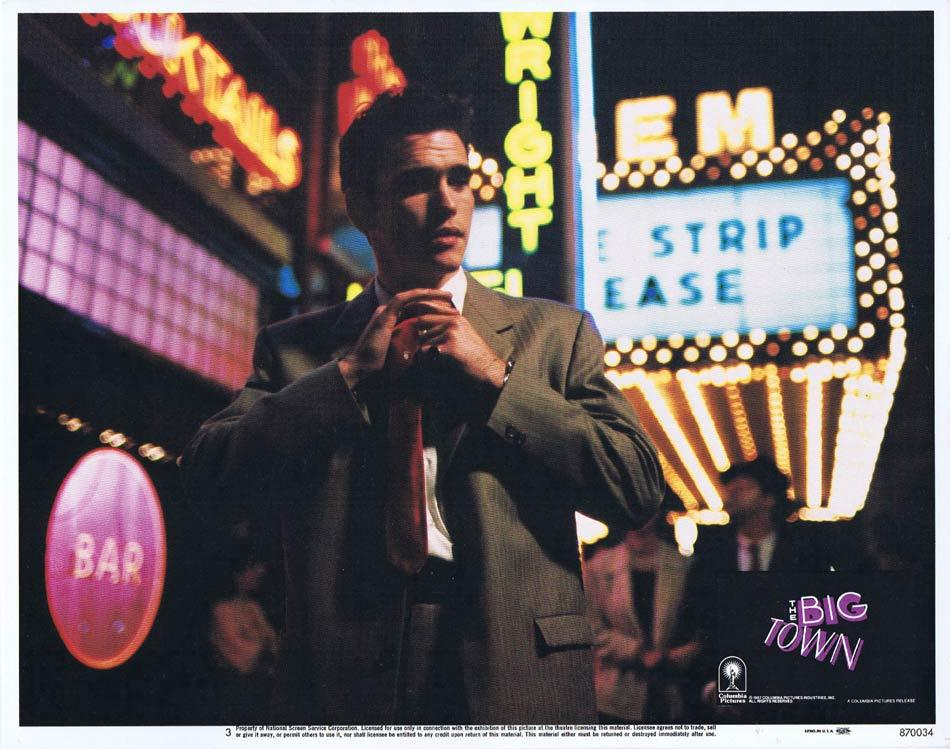 THE BIG TOWN Lobby Card 3 Matt Dillon Diane Lane