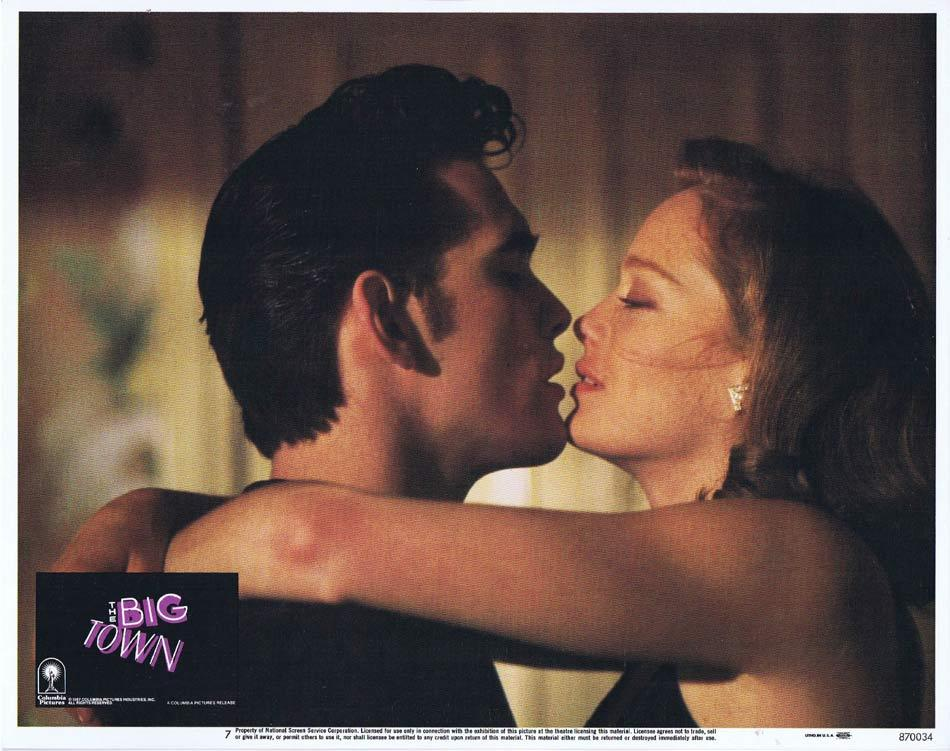 THE BIG TOWN Lobby Card 7 Matt Dillon Diane Lane