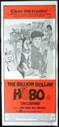 BILLION DOLLAR HOBO Original Daybill Movie poster Tim Conway Will Geer