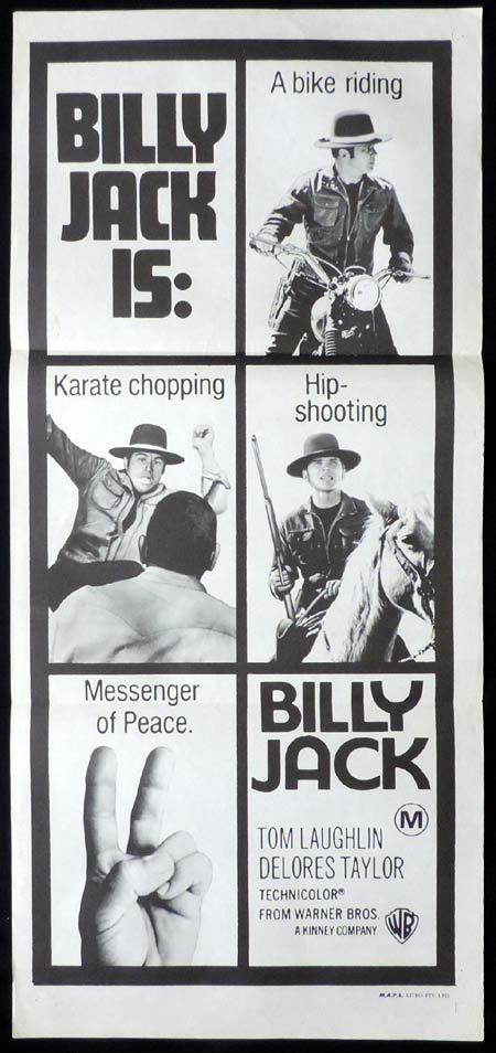 BILLY JACK Original Daybill Movie Poster 1971 Tom Laughlin