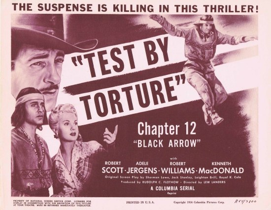 Black Arrow (1955r) A Columbia Super Serial