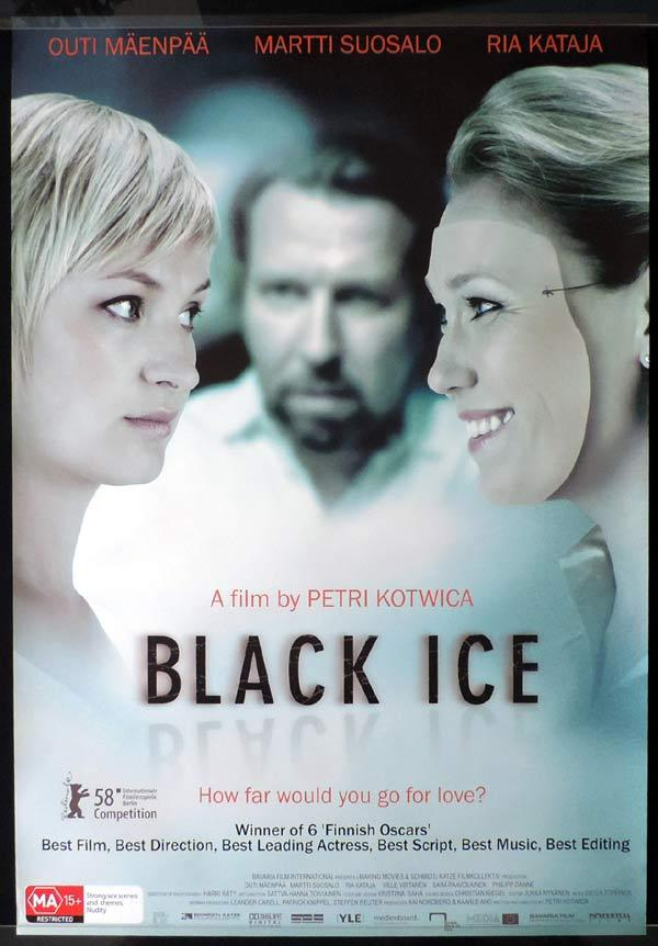 BLACK ICE One Sheet Movie Poster Outi Mäenpää