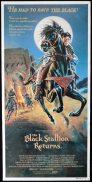 THE BLACK STALLION RETURNS Original Daybill Movie poster Francis Ford Coppola