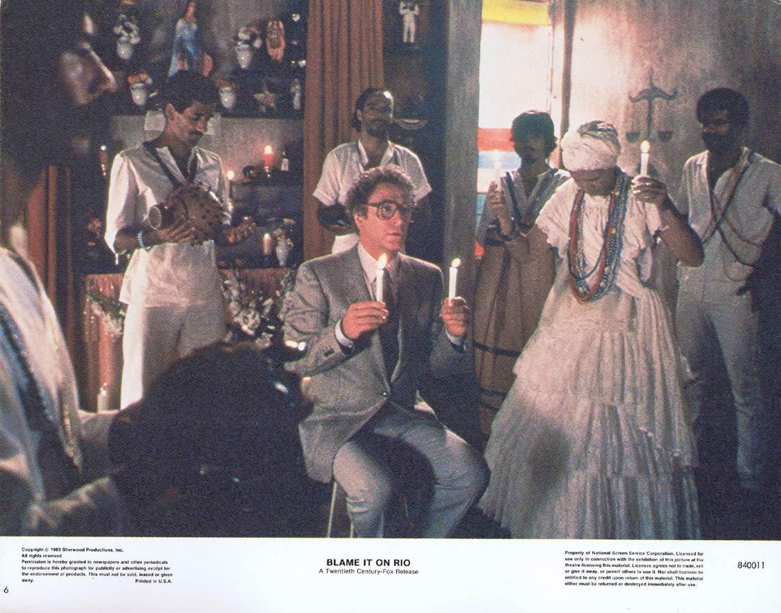 BLAME IT ON RIO Original Lobby Card 6 Joseph Bologna Michael Caine
