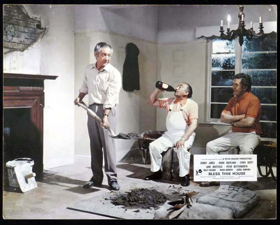 BLESS THIS HOUSE Rare British Film Noir Lobby Card 1