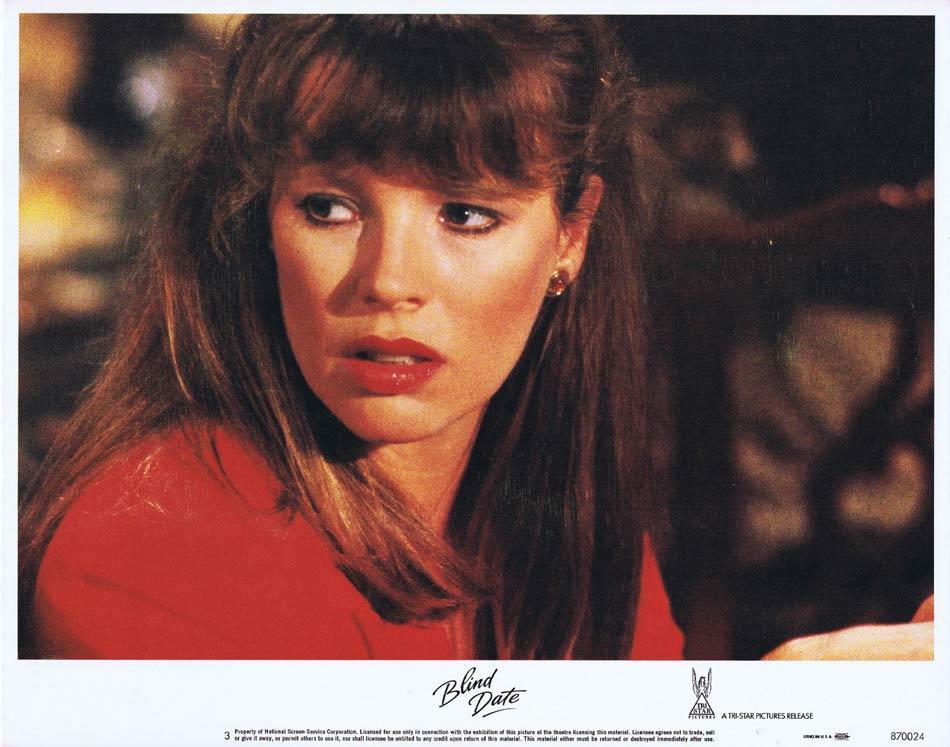 BLIND DATE Lobby Card 3 Bruce Willis Kim Basinger.