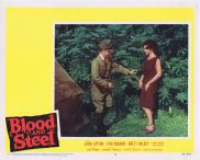 BLOOD AND STEEL Lobby Card 5 John Lupton James Edwards Brett Halsey 1959