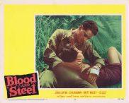 BLOOD AND STEEL Lobby Card 7 John Lupton James Edwards Brett Halsey 1959