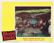 BLOOD AND STEEL Lobby Card 8 John Lupton James Edwards Brett Halsey 1959