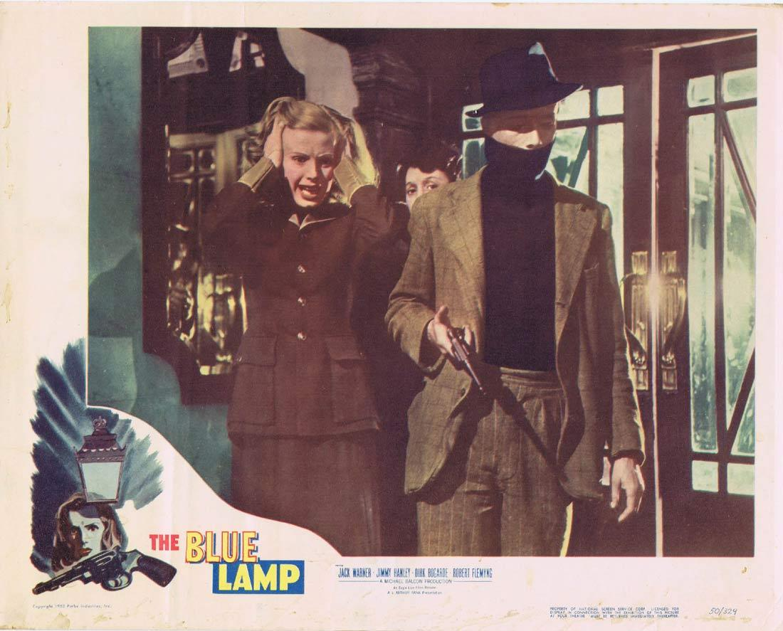 THE BLUE LAMP Lobby Card 3 Jack Warner Jimmy Hanley Dirk Bogarde