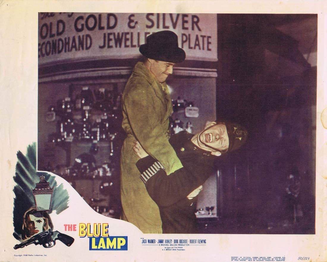 THE BLUE LAMP Lobby Card 4 Jack Warner Jimmy Hanley Dirk Bogarde