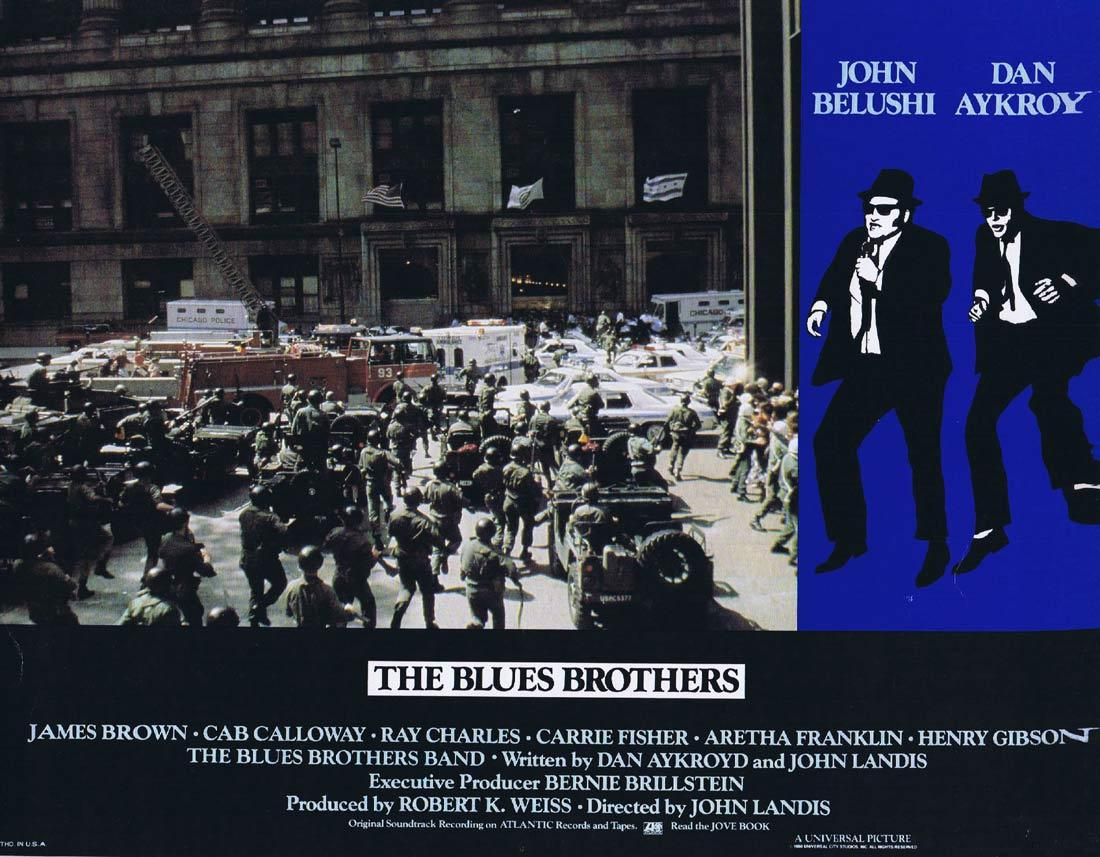 THE BLUES BROTHERS Vintage Lobby Card 7 Dan Aykroyd John Belushi