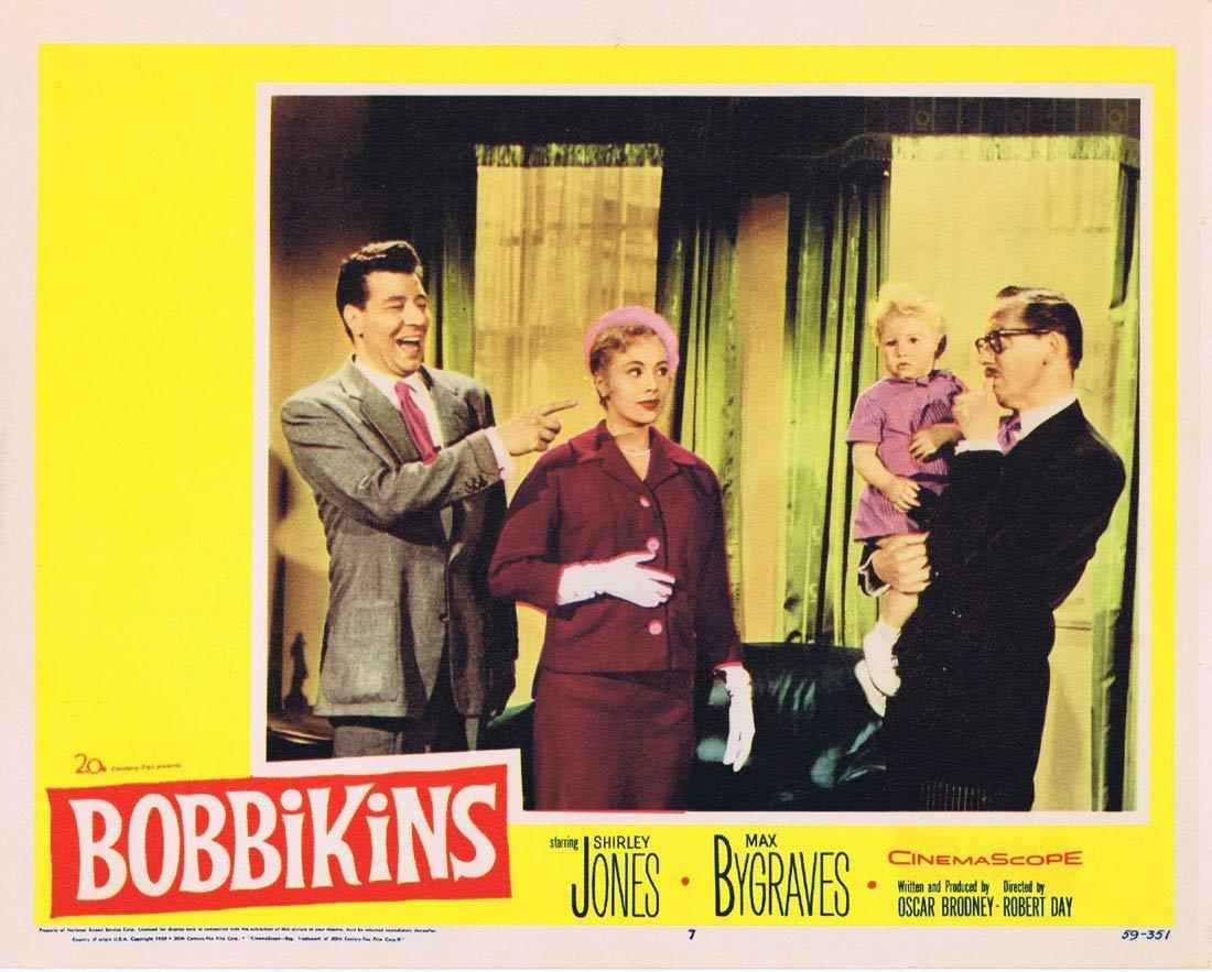 BOBBIKINS 1959 Max Bygraves Shirley Jones Lobby Card 7