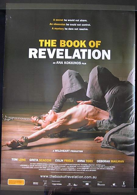 THE BOOK OF REVELATION Movie Poster 2006 Colin Friels Australian one sheet