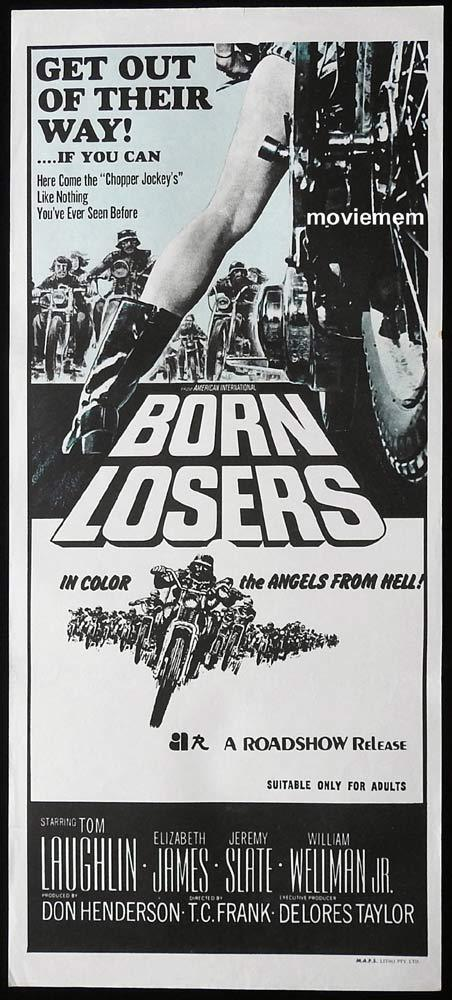 The Born Losers, Tom Laughlin, Tom Laughlin, Elizabeth James, Jeremy Slate, William Wellman Jr.