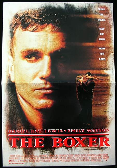 THE BOXER Daybill Movie Poster Daniel Day Lewis