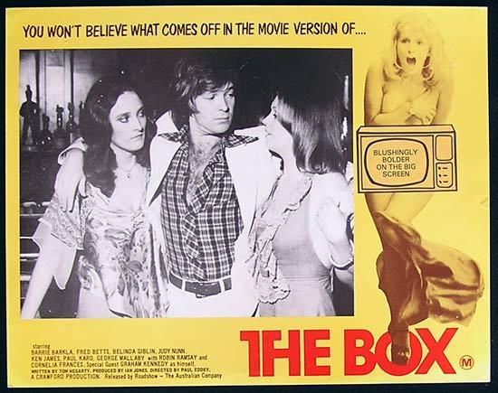 BOX, The '75-Graham Kennedy ORIGINAL Lobby card #1