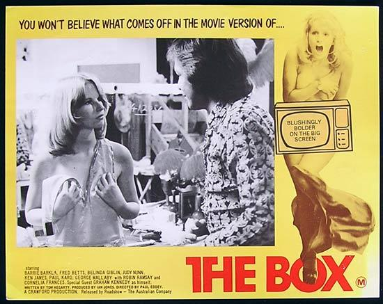 BOX, The '75-Graham Kennedy ORIGINAL Lobby card #2