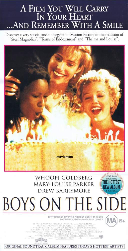 BOYS ON THE SIDE Original Daybill Movie poster Whoopi Goldberg