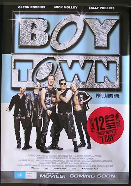 BOY TOWN Movie Poster 2006 Glenn Robbins Australian one sheet