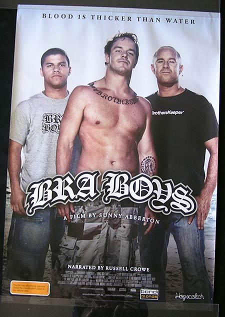 BRA BOYS Movie Poster 2007 Kelly Slater Australian one sheet