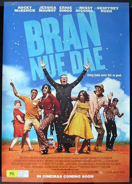 BRAN NUE DAE Movie Poster 2009 Australian One sheet