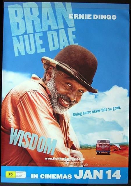 BRAN NUE DAE Movie Poster 2009 ERNIE DINGO Advance Australian One sheet