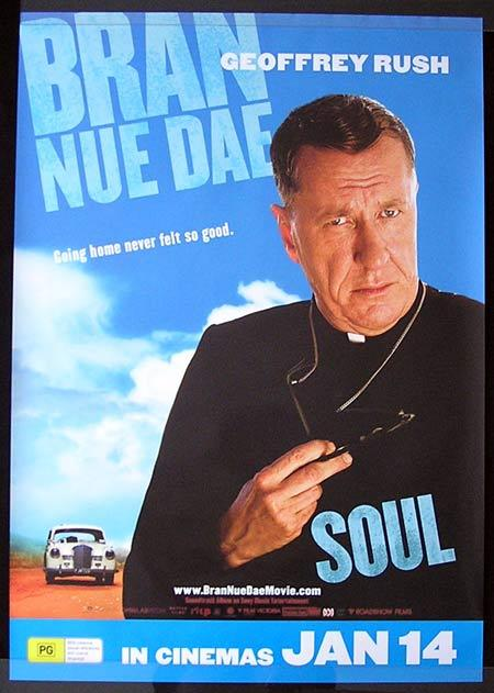 BRAN NUE DAE Movie Poster 2009 Geoffrey Rush Advance Australian One sheet