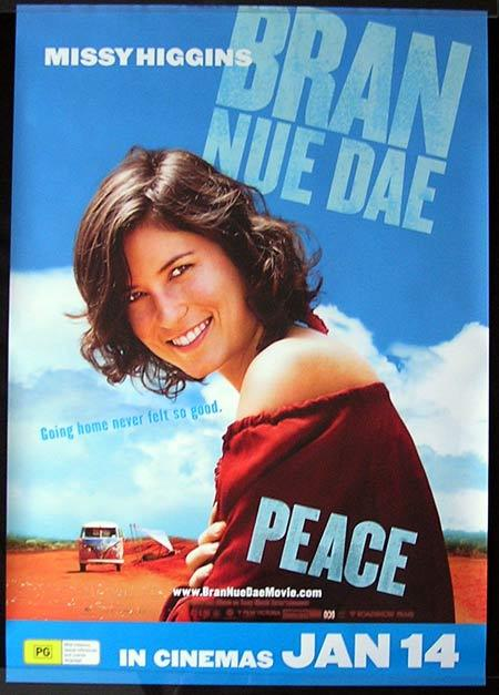 BRAN NUE DAE Movie Poster 2009 Missy Higgins Advance Australian One sheet