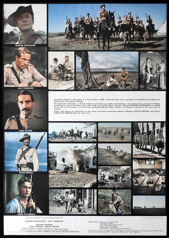 BREAKER MORANT Original SPECIAL RELEASE One sheet Movie poster