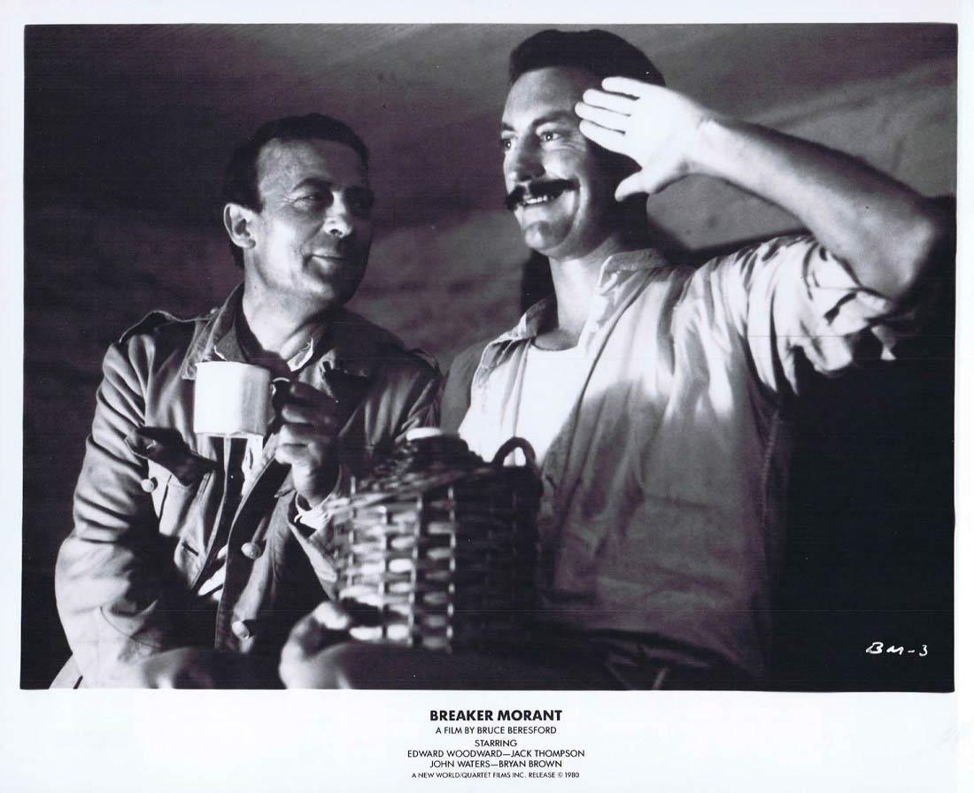 BREAKER MORANT Movie Still 3 Edward Woodward Bryan Brown Jack Thompson John Waters
