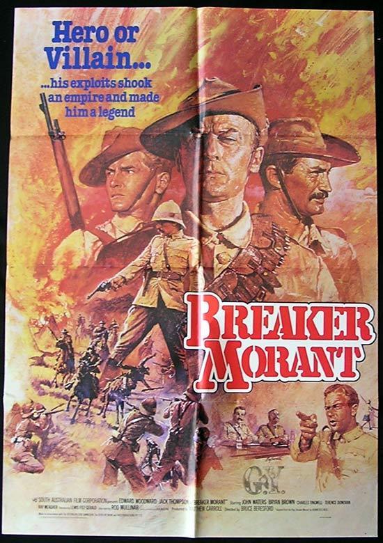 Breaker Morant 2   Australian Cinema Movies Posters Vintage  Films