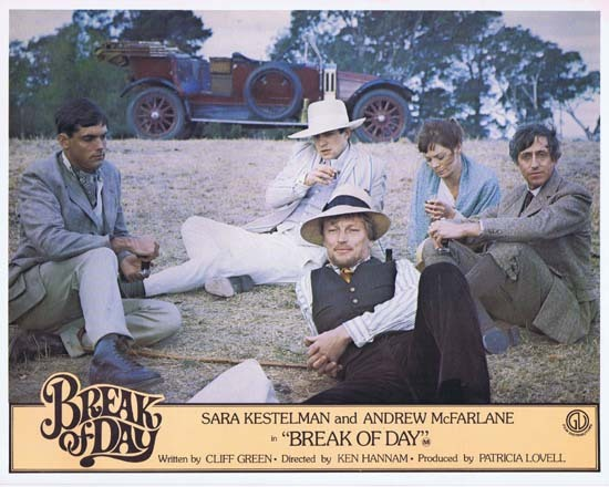 BREAK OF DAY Lobby Card 7 1976 RARE Australian Film