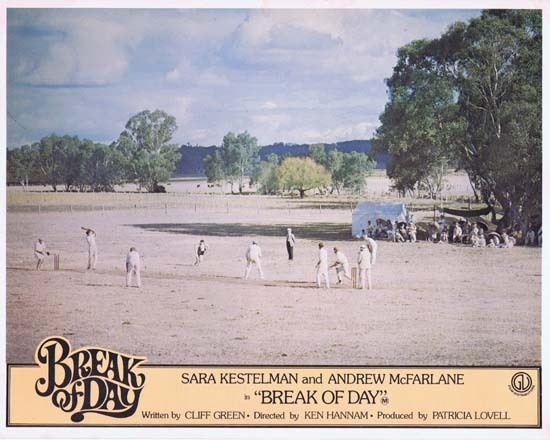 BREAK OF DAY Lobby Card 8 1976 RARE Australian Film