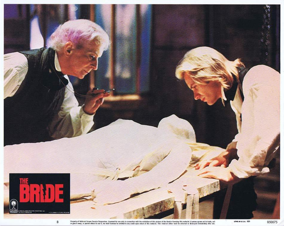 THE BRIDE Lobby Card 8 Sting Jennifer Beals Anthony Higgins