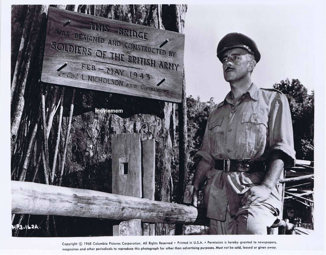 BRIDGE ON THE RIVER KWAI Vintage Movie Still 10 William Holden Alec Guinness